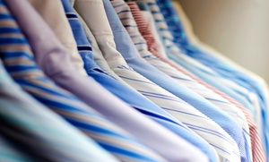 All-Star Dry Cleaners: Dry Cleaning at All-Star Dry Cleaners (45% Off). Two Options Available.