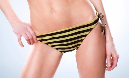 Brazilian Wax or Lip and Eyebrow Wax at Sybil Salon & Spa (Half Off)