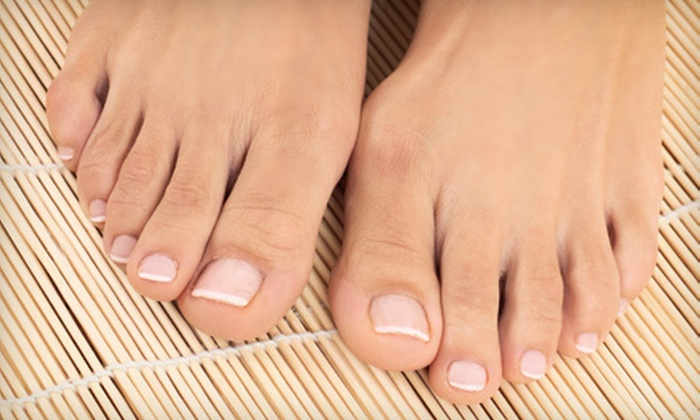 Advanced Aesthetics Medical Spa - Amherst: Laser Toenail-Fungus Removal for One or Both Feet at Advanced Aesthetics Medical Spa (Up to 75% Off)