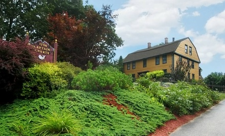 1- or 2-Night Stay for Two with Optional Ghost-Communication Lesson at Captain Grant's, 1754 in Preston, CT