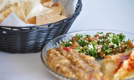 $14 for Two Groupons, Each Good for $14 Worth of Mediterranean Food at Petra Cafe ($28 Total Value)