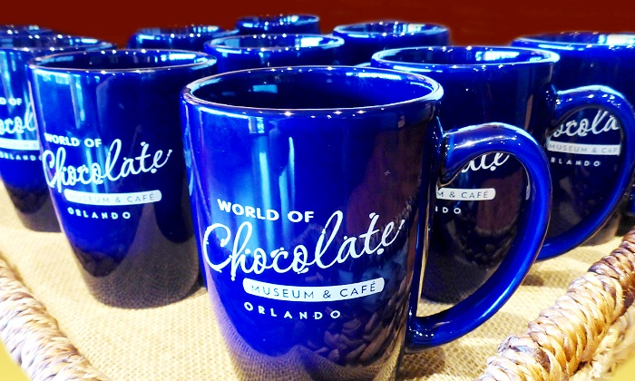 World of Chocolate Museum & Cafe - Southwest Orange: World of Chocolate Museum Tour with Optional Mug and Hot Chocolate or Coffee (Up to 41% Off)