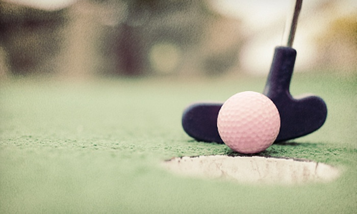 Green Valley Golf Range - Bloomingdale: $22 for Mini Golf, Driving-Range Practice, and Ice Cream for Four at Green Valley Golf Range in Hanover Park ($46 Value)
