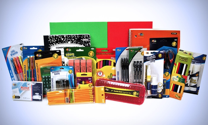 Back To School Supply Kit Groupon Goods