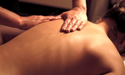 $35 for a 60-Minute Therapeutic Massage and Consultationat HealthSource ($130 Value)