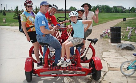 1-Hour Rental of a 7-Seater Bike (an $85 value) - SeptaCycles in Fort Collins