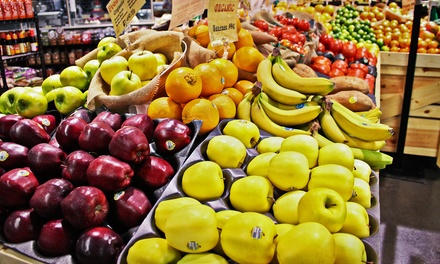 $15 for $25 Worth of Produce and Prepared Fare at Lemon Tree Grocer