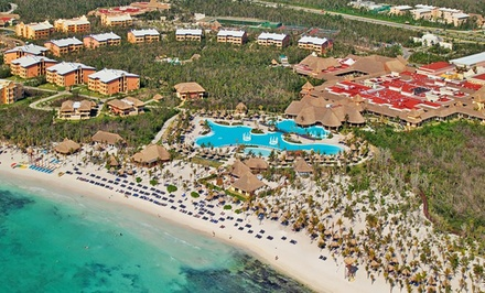 groupon daily deal - All-Inclusive Grand Palladium Riviera Maya Stay w/ Air. Price Per Person Based on Double Occupancy. Incl. Taxes & Fees