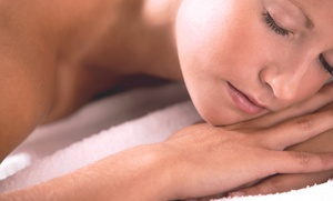 Serenity Massage: Sugar Scrub or Massage with Aromatherapy and Slimming Body Wrap at Serenity Massage (Up to 51% Off)