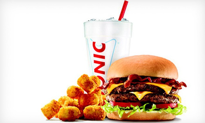 Sonic - Multiple Locations: $5 for $10 Worth of American Food and Treats at Sonic Drive-In