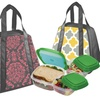 San Clemente Designer Lunch Bag with Storage Pods