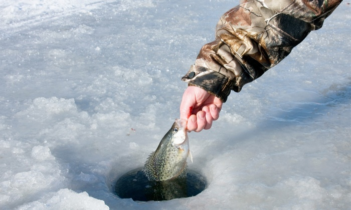 Taft's Tackle & Charter Services - Eastside: Catch-and-Release or Fillet-and-Freeze Ice-Fishing for Two from Taft's Tackle & Charter Services  (Up to 75% Off)