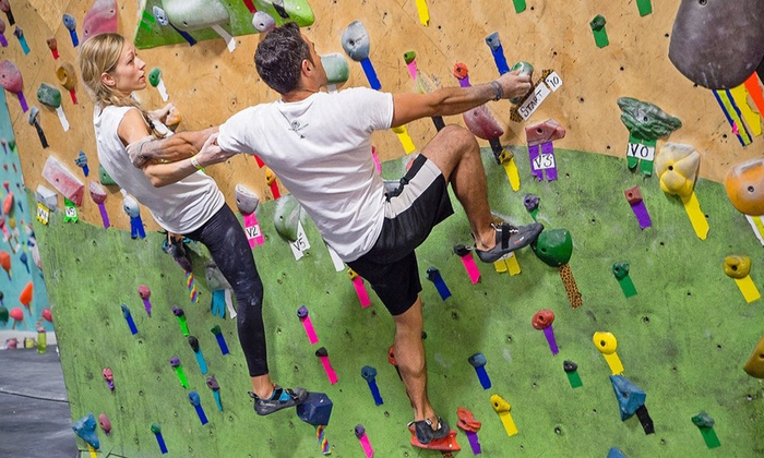 Brooklyn Boulders - Brooklyn Boulders: Day Pass or Ropes Class at Brooklyn Boulders (51% Off)