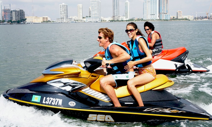 Relentless Watersports - Watson Island Boat Ramp: One-, Two-, Four-, or Eight-Hour Jet-Ski Rental for Up to Two at Relentless Watersports (Up to 48% Off)