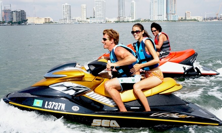$79 for a Jet-Ski and Beach Package for Two from Doctor Jet Ski & Boat Rental ($159 Value)