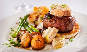 Secret Garden: French Dinner for Two or Four with Wine at Secret Garden (Up to 51% Off)