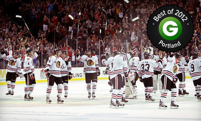 Portland Winterhawks - Moda Center: $30 for a Portland Winterhawks Hockey Game for Two on February 15 or 18 at Veterans Memorial Coliseum (Up to $63 Value)