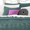 Up to 71% Off a Textured Duvet Cover Set