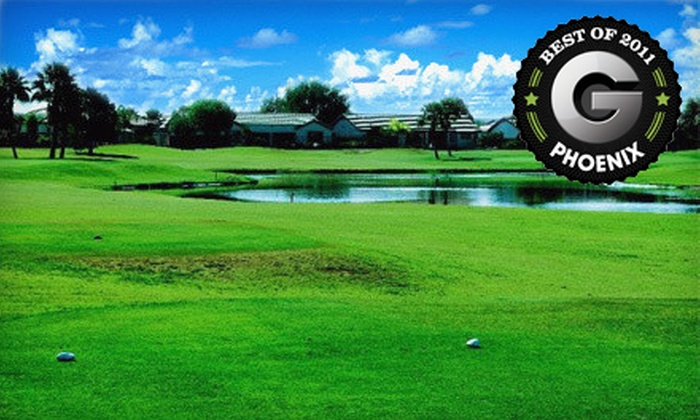 Greenfield Lakes Golf Course - Greenfield Lakes: Golf Outing for One, Two, or Four with Cart and Range Balls at Greenfield Lakes Golf Course in Gilbert (Up to 65% Off)