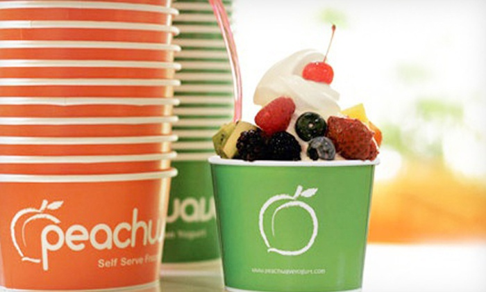 Peachwave - The Bridges at 57th: $7 for Two Groupons, Each Good for $7 Worth of Frozen Yogurt at Peachwave Yogurt ($14 Total Value)