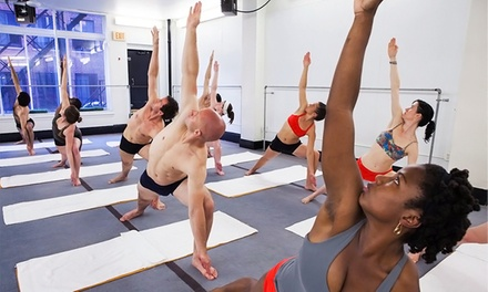 September National Yoga Month Packages at Bikram Yoga Boston/Harvard Square. (Up to 74% Off).