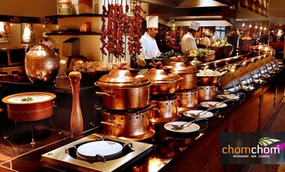image for All-You-Can-Eat World Buffet for Up to Four at Chomchom (Up to 38% Off)