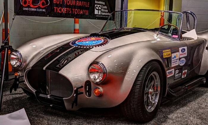 Cincinnati Auto Expo - Duke Energy Convention Center: Two or Four Tickets to Cincinnati Auto Expo (50% Off)
