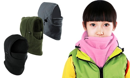 1 o 2 gorros térmicos de invierno para niños