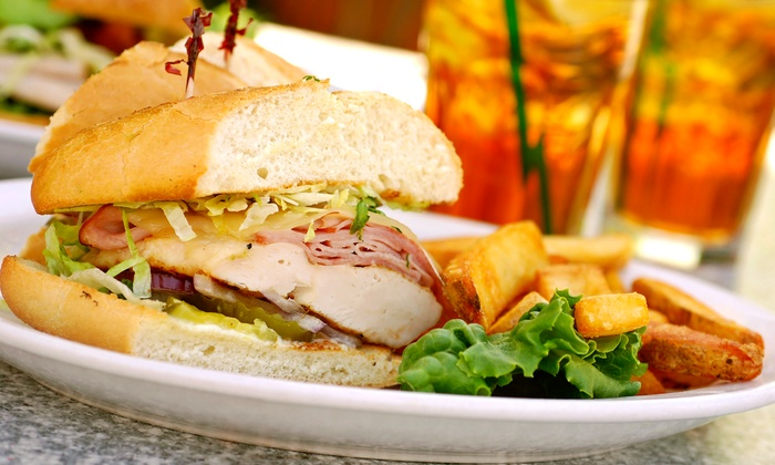 Celebrities Sports Grill - Arrowhead: Lunch or Dinner for Two, or Weekend Breakfast for Four at Celebrities Sports Grill (Up to 52% Off)