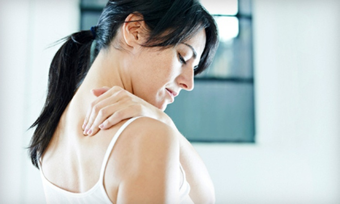 Live Well - Paseo Nuevo: 1- or 2-Month Package with Consultation, Adjustments, and Trigger-Point Therapy at Live Well (Up to 85% Off)