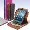 Aduro BookCase Folio and Stand Case for iPads or MacBooks