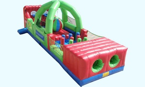 Zonkers: $12 for Four Bounce-House Entries and 16 Arcade-Game Tokens at Zonkers ($26 Value)