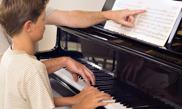 Vargas Conservatory of Music - Claremont: Four or Eight 30-Minute Private Piano Lessons at Vargas Conservatory of Music (Up to 54% Off)