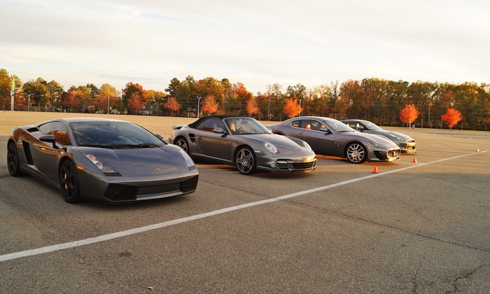 Velocity Driving - Nassau Veterans Memorial Coliseum: Exotic Car Ride-Along or Driving Experience from Velocity Driving (Up to 67% Off). Four Options Available.