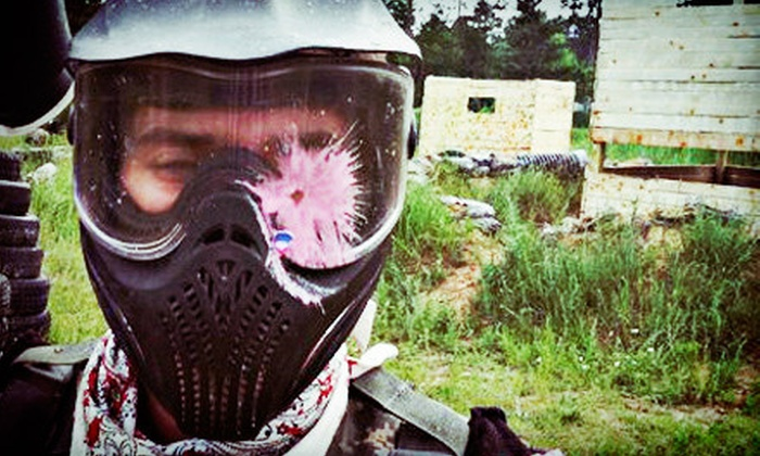 T.C. Paintball - Charlotte: $27 for All-Day Paintball for Two with Equipment Rental and 500 Paintballs at T.C. Paintball in Charlotte ($60 Value)