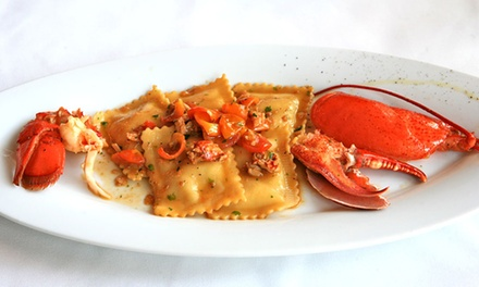 Italian Dinner for Two or Four at Fuor D'Acqua (Up to 56% Off)