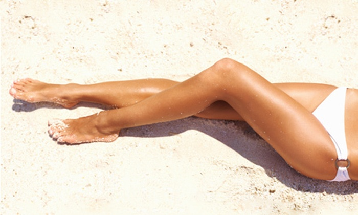 360 Tan - Jamestown: UV Tanning or Mystic Spray Tanning at 360 Tan (52% Off). Four Options Available.