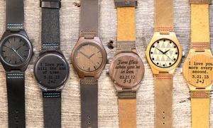 Cabanyco: Fino a 3 orologi da polso in legno personalizzabili offerti da Cabanyco (sconto fino a 53%)