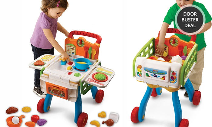 VTech 2-in-1 Shop & Cook Play Set: VTech 2-in-1 Shop & Cook Play Set. Free Returns.