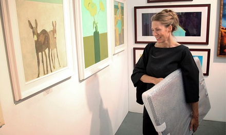 Admission for Two to The Affordable Art Fair on September 26–29 (Up to 67% Off). Two Options Available.