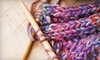 One More Stitch - East Walnut Hills,Riverfront: Beginner or Intermediate Knitting and Crochet Course at One More Stitch (Up to Half Off)