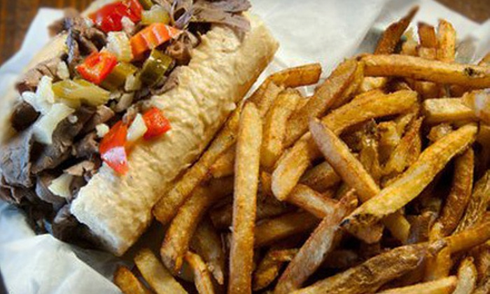 Brando's Beef - Berwyn: $20 for $40 Worth of Pizza, Sandwiches, and Pasta at Brando's Beef