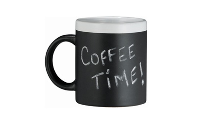 Modern Living Chalkboard Coffee Mug