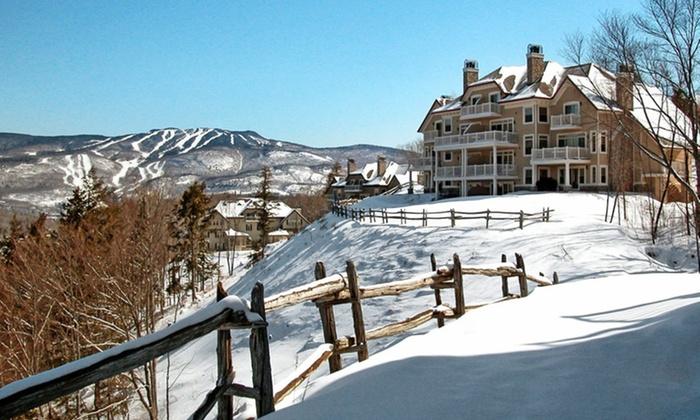 Cap Tremblant - Mont-Tremblant: Stay at Cap Tremblant in Mont-Tremblant, QC. Dates into April.
