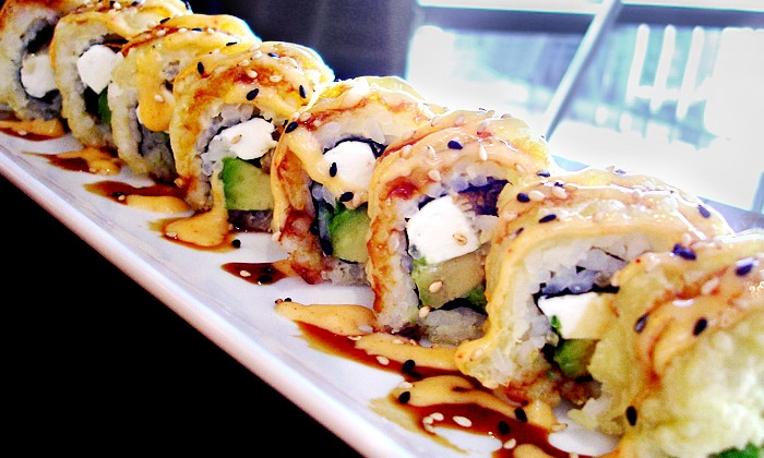 Red Bowl - Lexington: $12 for $20 Worth of Chinese, Thai, and Japanese Cuisine for Dinner at Red Bowl