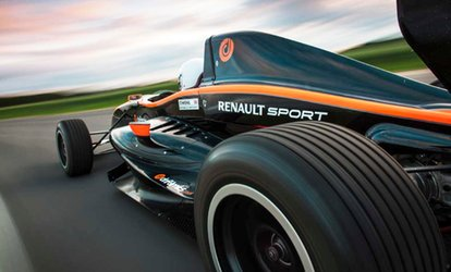 image for 14-Lap F1000 Single Seater Experience Including a High Speed Passenger Lap for One or Two at Drift Limits (50% Off)