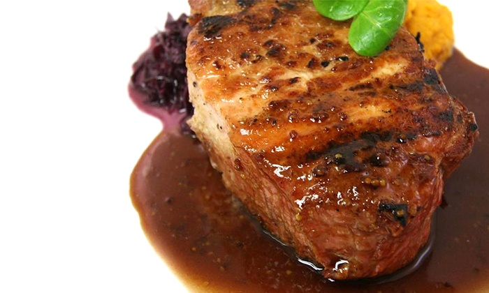 New American Dinner or Brunch for Two or Four at Bistro B at Westport Inn (Up to 53% Off)