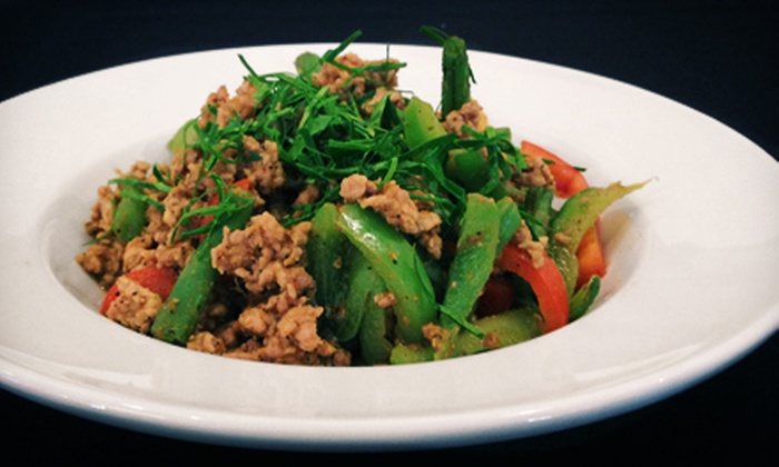 Thai Medallion - Downtown Naperville: Lunch or Dinner for Two or Four at Thai Medallion (Up to Half Off)
