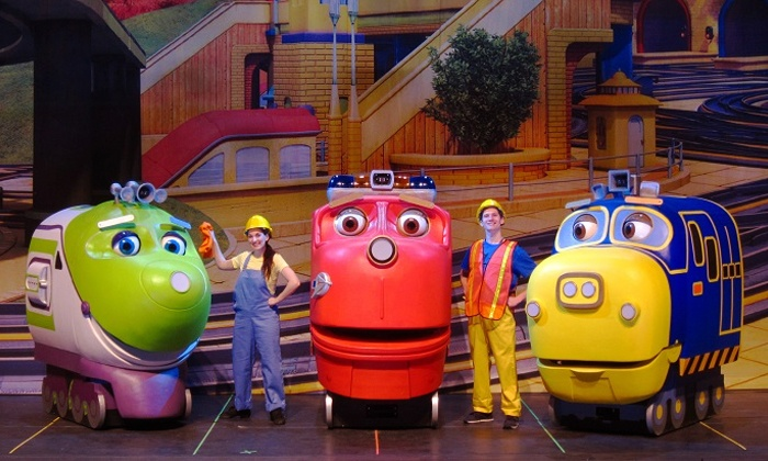 """""""Chuggington Live! - The Great Rescue Adventure"""" - Murat Theatre at Old National Centre: """"Chuggington Live! – The Great Rescue Adventure"""" on Friday, February 20, at 3:30 p.m. or 7 p.m. (Up to 47% Off)"""