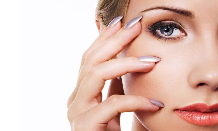 Prestige Salon & Spa - Toronto: Mani-Pedi with Optional Half-Hour Massage and Cleansing Facial at Prestige Salon & Spa (Up to 64% Off)